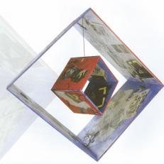 Hommage à Matisse : portrait en forme de cube