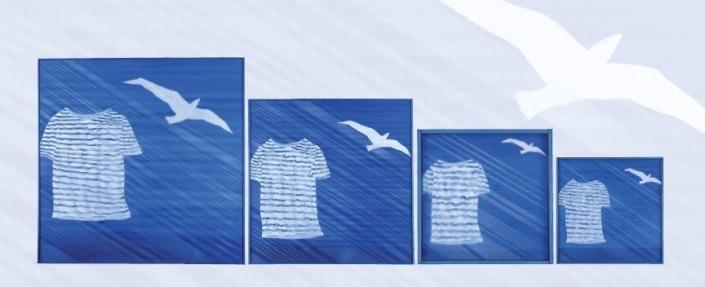 4 tableaux bleus B